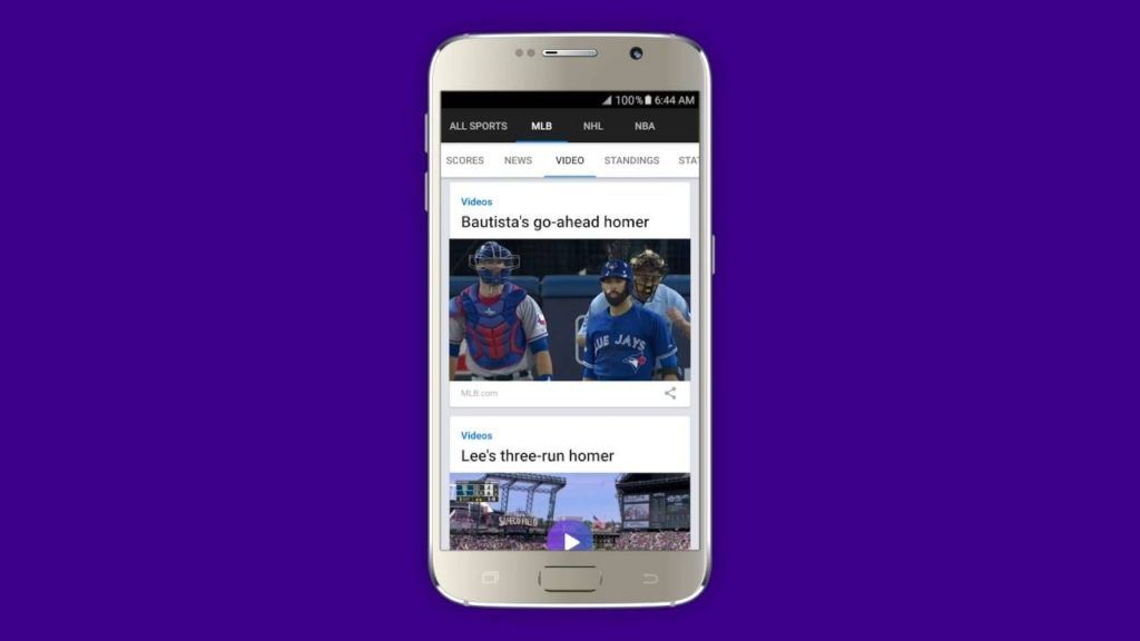 Yahoo Sportacular Sports app, Best android, League table