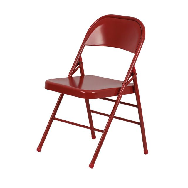 HERCULES Series Triple Braced U0026 Quad Hinged Metal Folding Chair   Great For  Cheap And Durable Extra Seating At Dinner Parties
