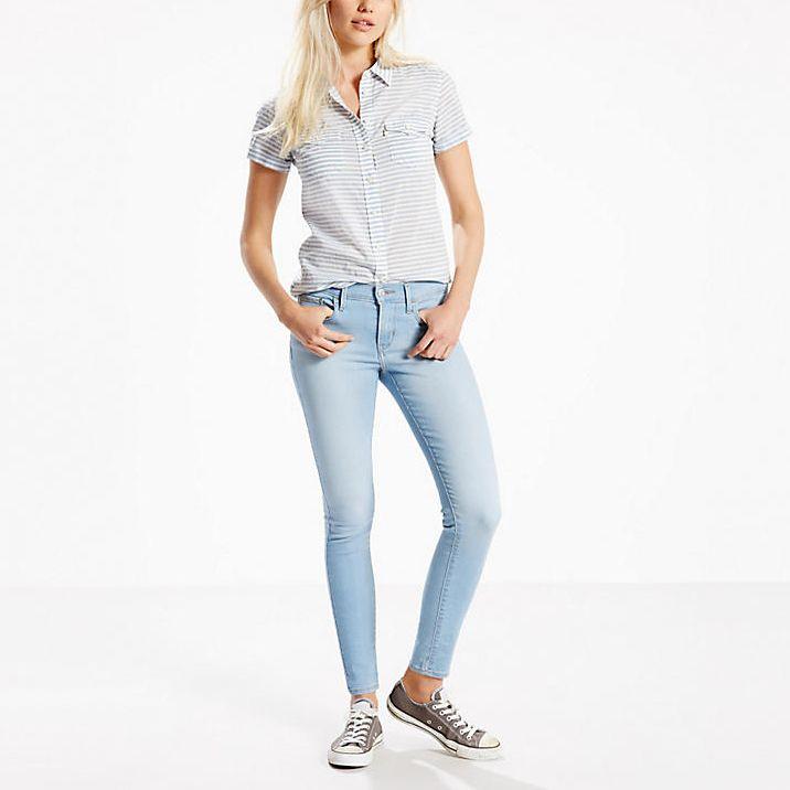 Levis Bayan Jean Pantolon Super Skinny 710 1 Skinny
