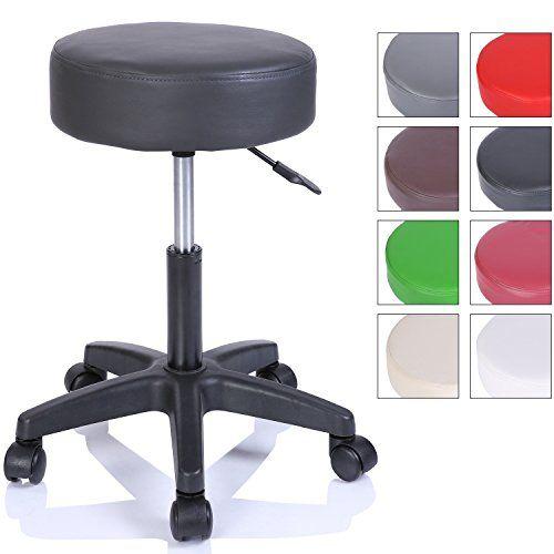 TRESKO® Swivel Chair Office Stool Beauty Salon Stool Medical Stool Rollable  Stool, Adjustable Height