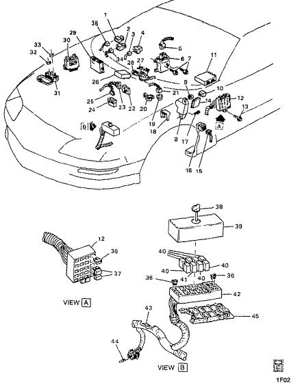 2000 Chevy Malibu Audio Wiring Pin Diagram