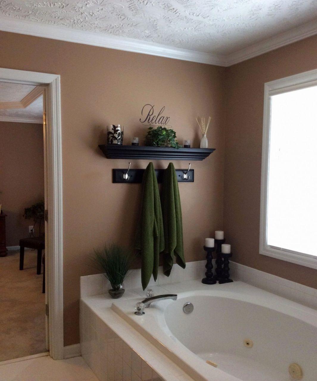 small bathroom wall decor ideas - Google Search in 8  Bathroom