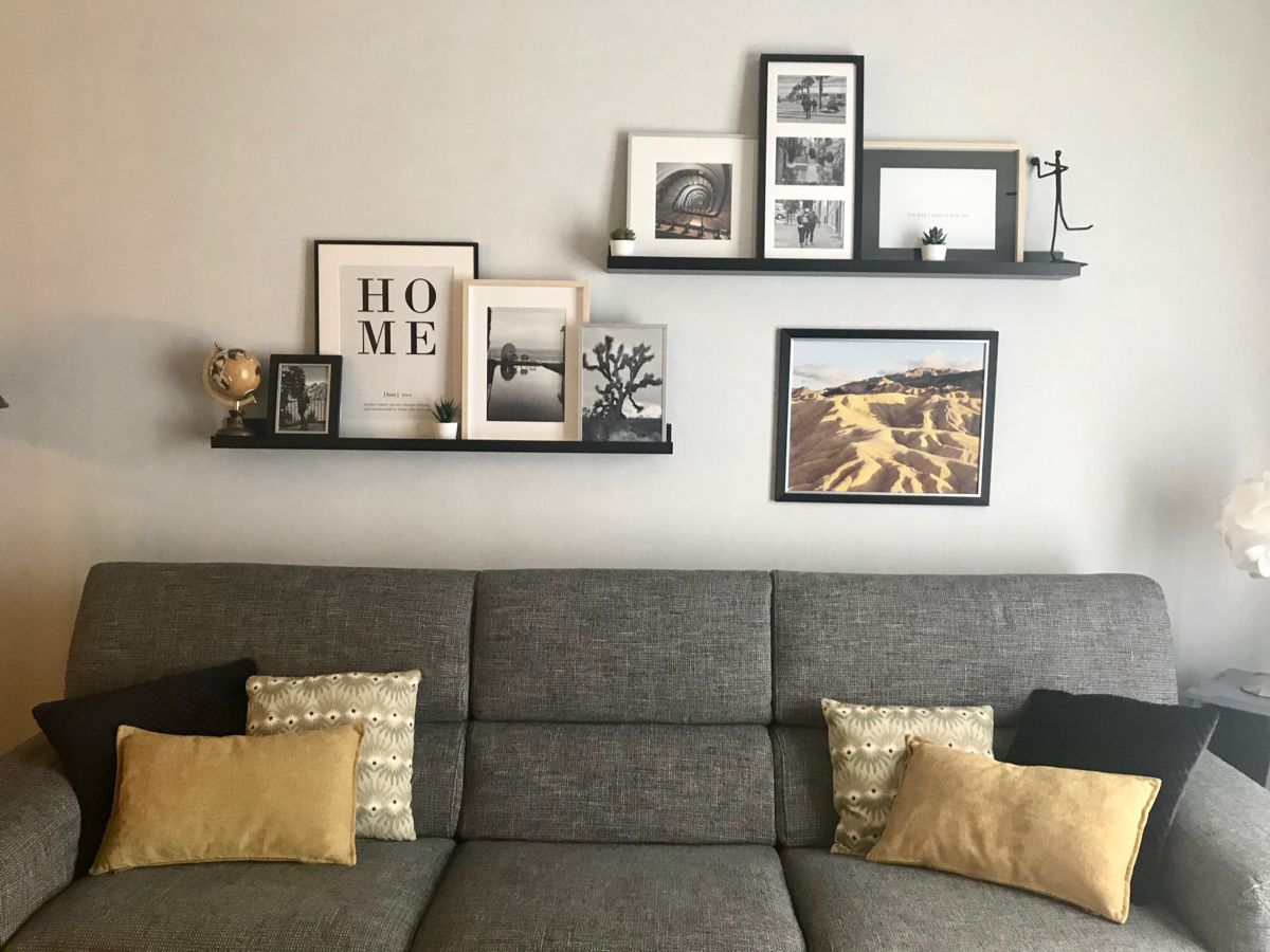 #cadres#photos#déco#mur#frame#wall#floating#shelves