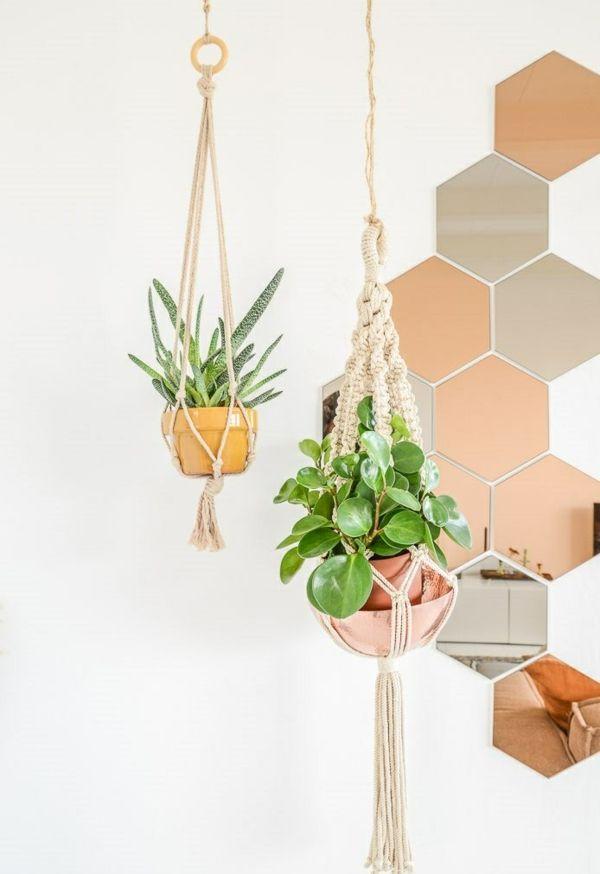 terrassengestaltung blumenideen f r h ngende lebensfreude dekoration drinnen pinterest. Black Bedroom Furniture Sets. Home Design Ideas