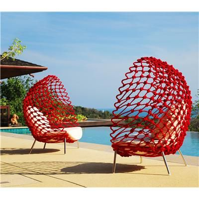 Attraktiv Dragnet Lounge Chair Contemporary Lounge Chair From Kenneth Cobonpue