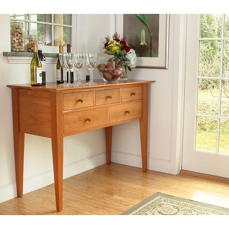 Classic Shaker Huntboard Simple Woodworking Plans Shaker Style Furniture Woodworking Plans Diy