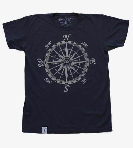 dfff533b04ff Mariner's Compass Enzyme Washed T-Shirt by Irontree Clothing on Scoutmob  Shoppe