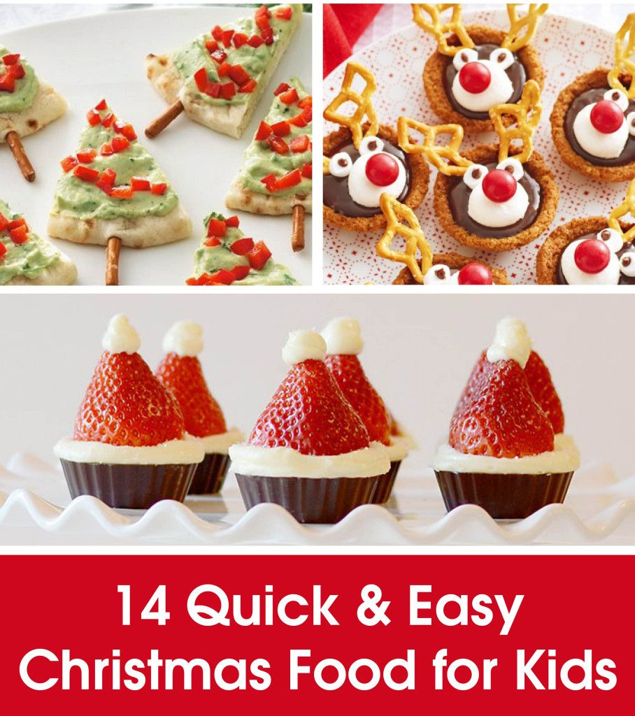 14 QUICK \u0026 EASY CHRISTMAS FOOD FOR KIDS