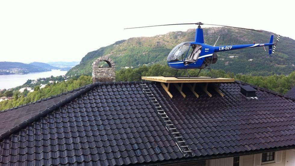 Rooftop Helipad Norway