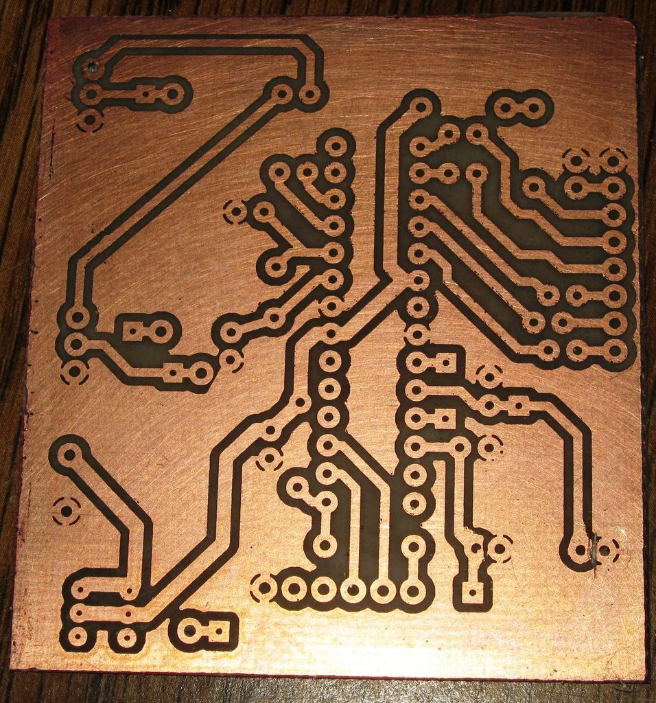 Vinyl Sticker Pcb How To Electronics Pinterest Stickers The Next Step In Diy Printed Circuit Board Fabrication After
