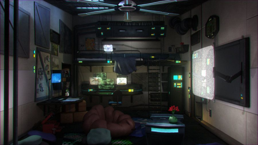 Cyberpunk Interior Google Search Honours Pinterest Cyberpunk Deviantart And Sci Fi