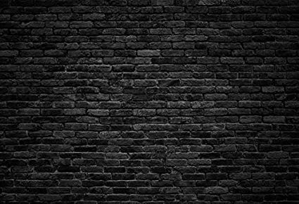 Black Stone Wall Texture Wallpaper Laeacco Dark Gray Brick Wall