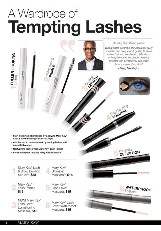 Which of these Mary Kay products have you tried? Try them