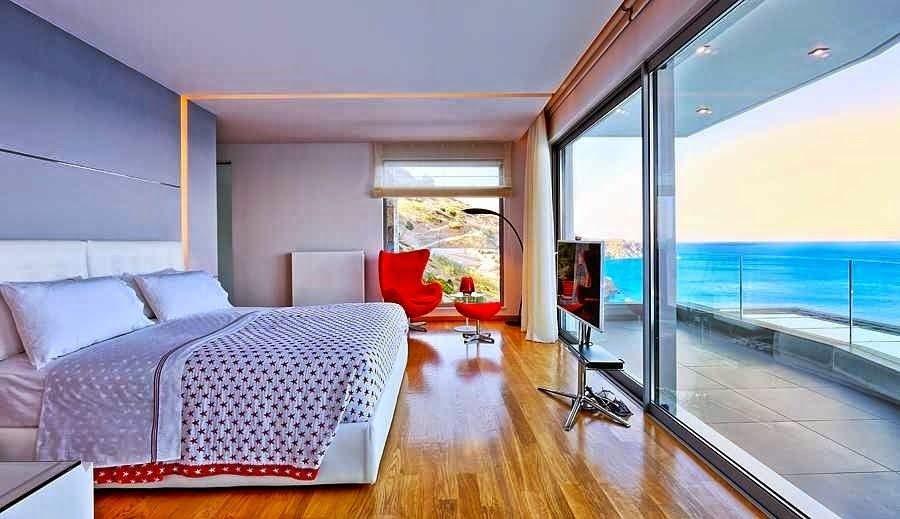Arquitectura casa de playa en isla creta http www - Casa ultramoderna ...