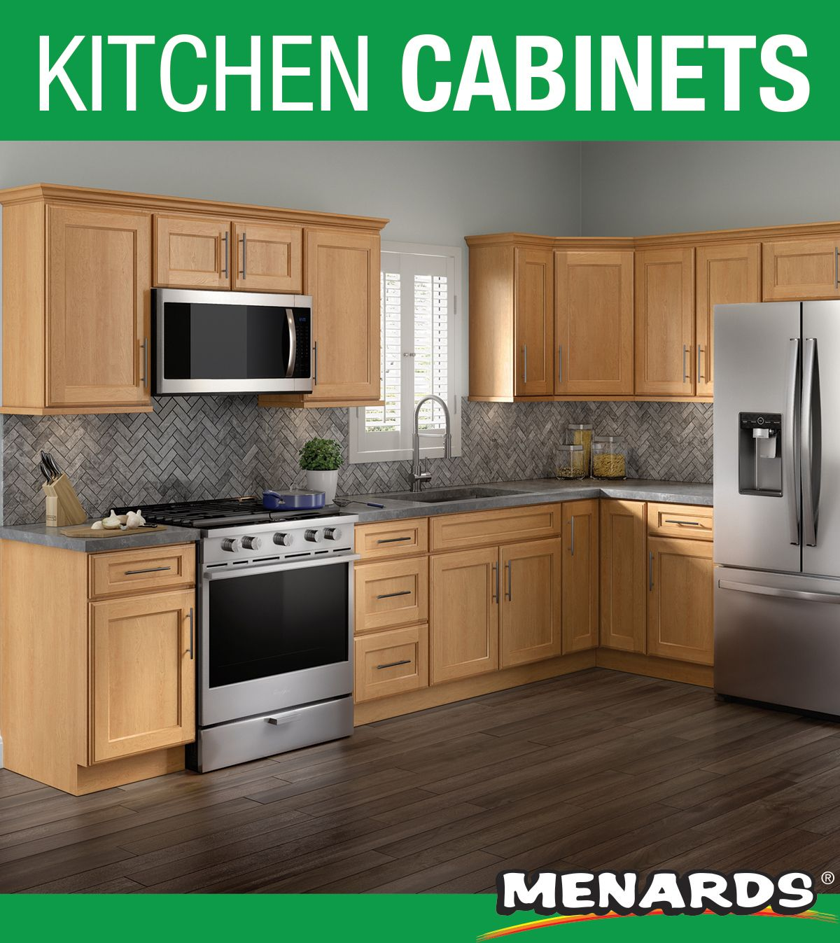 Cardell Cornerstone Collection Lakeridge Honey Spice 19 L Kitchen Cabinets Only In 2020 Kitchen Cabinets Menards Cabinets Unfinished Kitchen Cabinets
