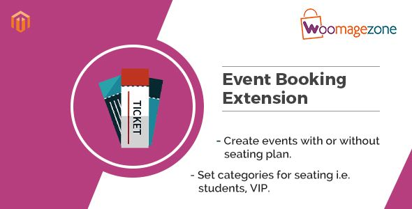 magento event ticket extension by woomagezone if you own an online