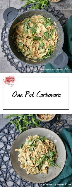 One Pot Carbonara #easyonepotmeals