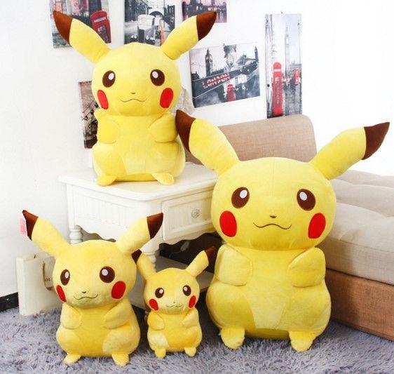Cute Pokemon Pikachu Anime Plush Toy Soft Pillow