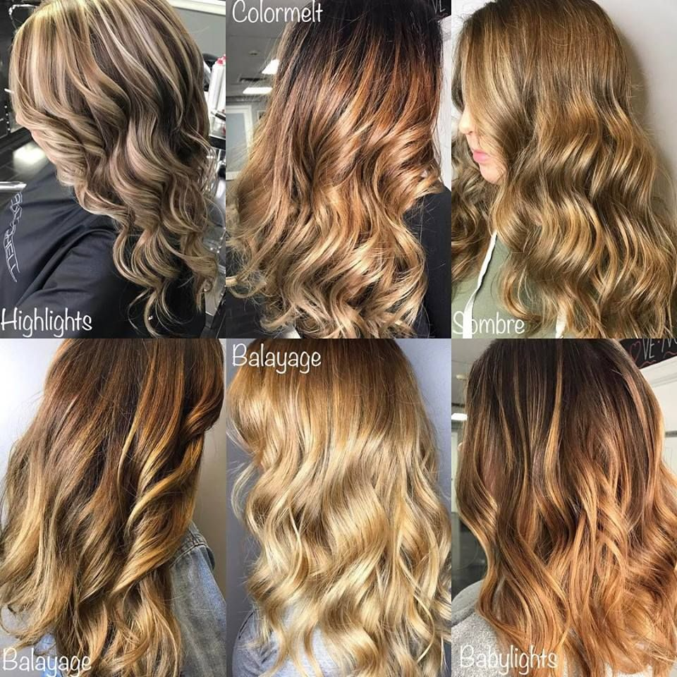 Explaining Different Hair Color Styles Colored Hair Tips Different Hair Colors Hair Color