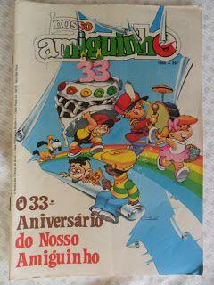 Revista Nosso Amiguinho Quadrinhos Educam Revista Nosso