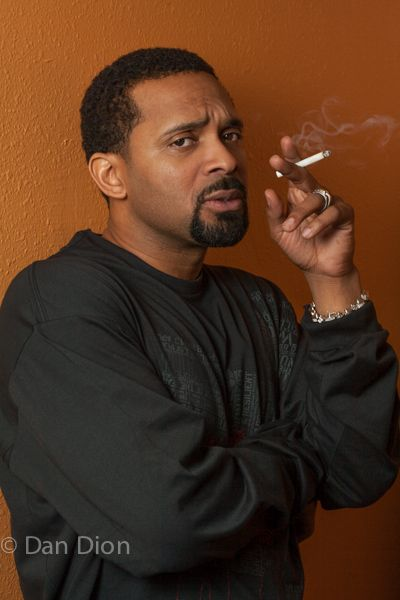 Portrait of comic Mike Epps by photographer Dan Dion.