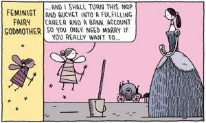 gender representation in fairy tales...