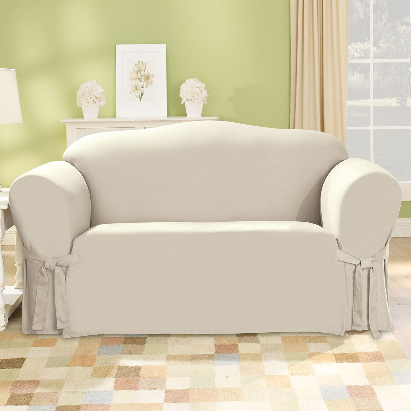 Cotton Duck Sofa Slipcover Http Homerock Xyz