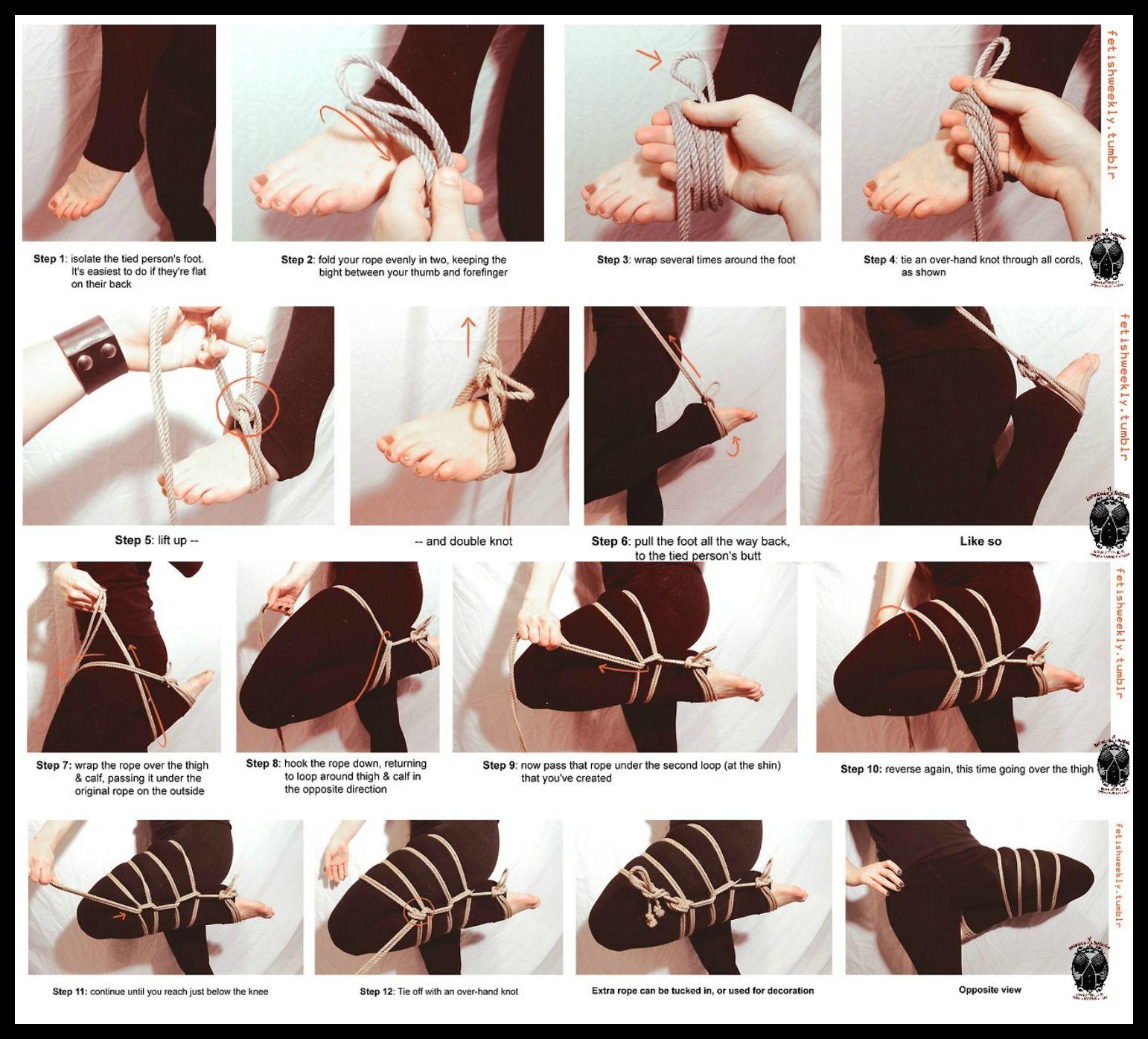 Made you foot bondage knots necessary