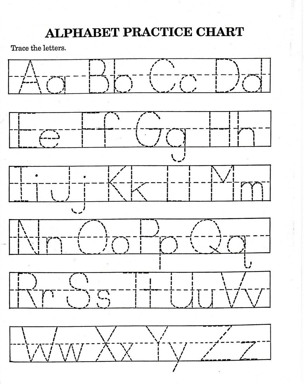 Traceable Alphabet Worksheets A Z Alphabet Worksheets Free Alphabet Worksheets Kindergarten Printable Alphabet Worksheets