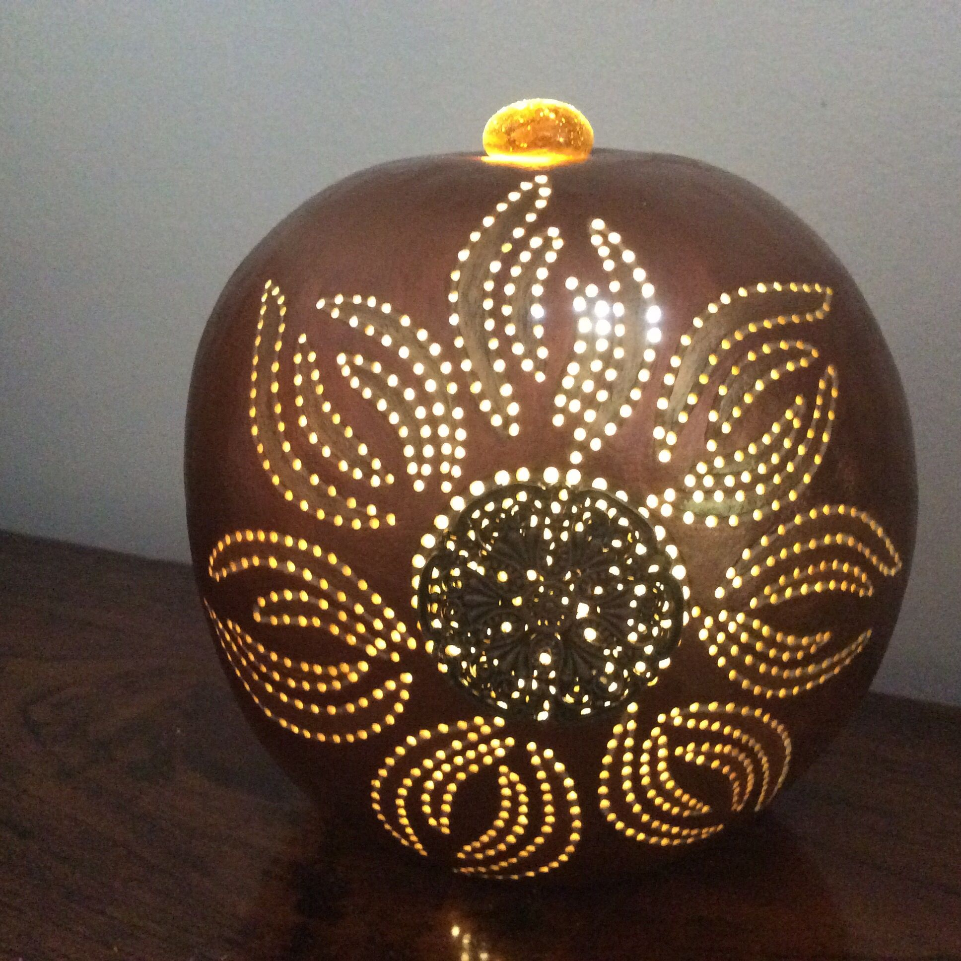 made yesim hand the gourd lamp table xviii turkish yes shop by