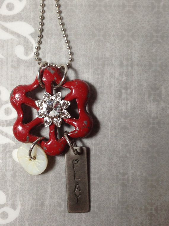 Hey, I found this really awesome Etsy listing at https://www.etsy.com/listing/174210002/unique-chic-water-valve-necklace-vintage
