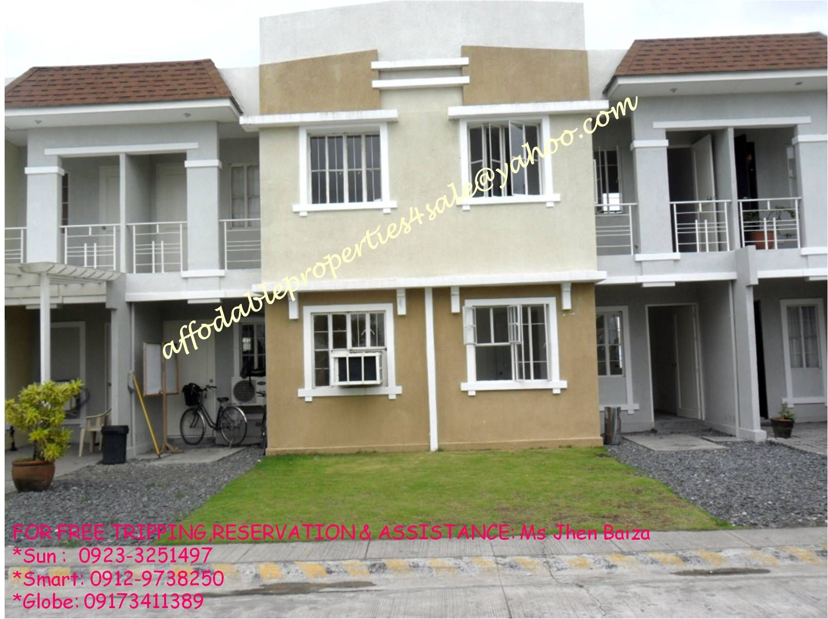 Affordable townhouse for sale in Cavite philippines 2 storey with 3 bedrooms and carport very near in manila via CAVITEX