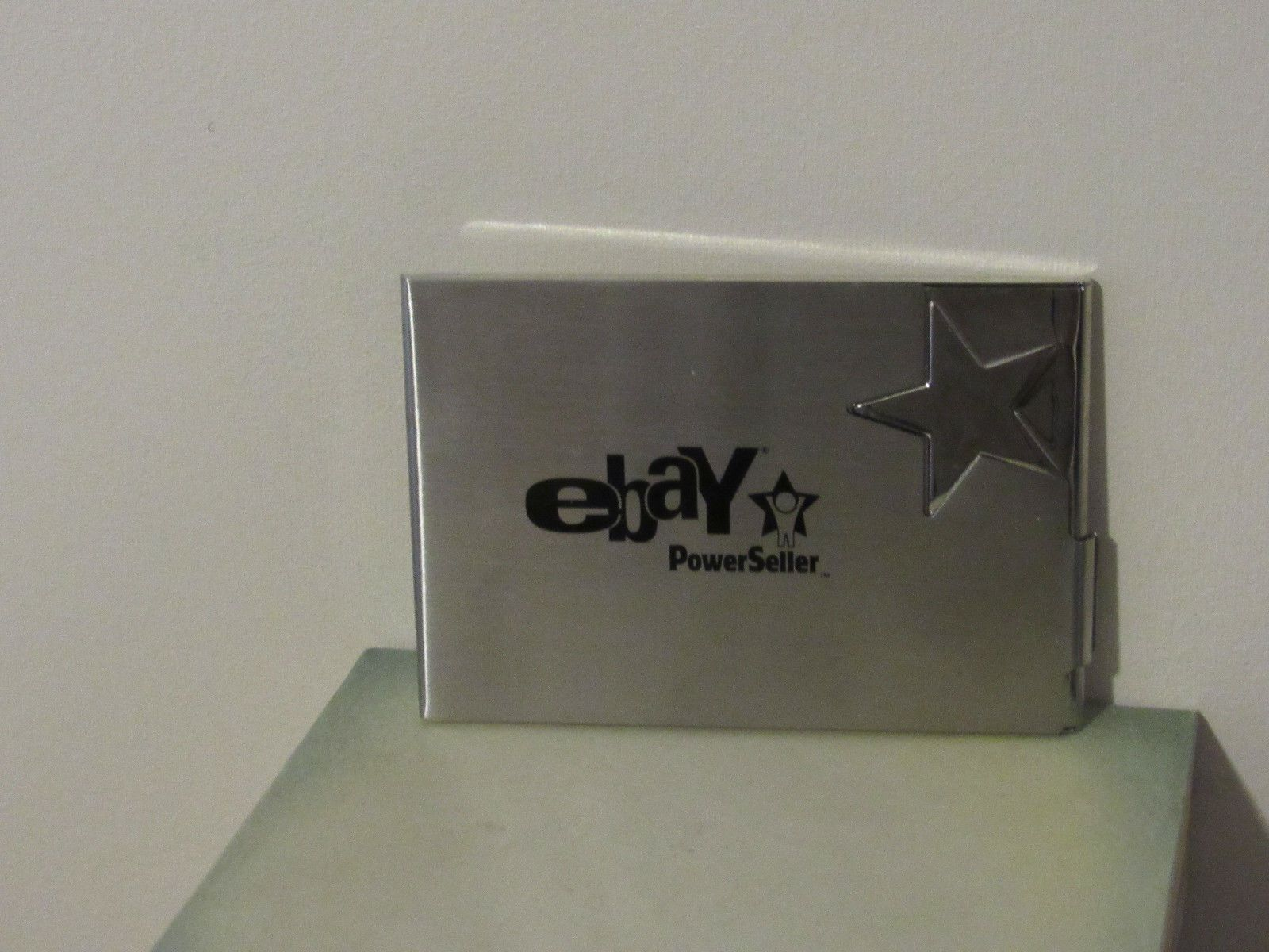 Ebay powerseller business card holder wallet chrome brushed ebayana dcouvrez des ides sur le thme porte cartes de visite ebay powerseller business card reheart Image collections