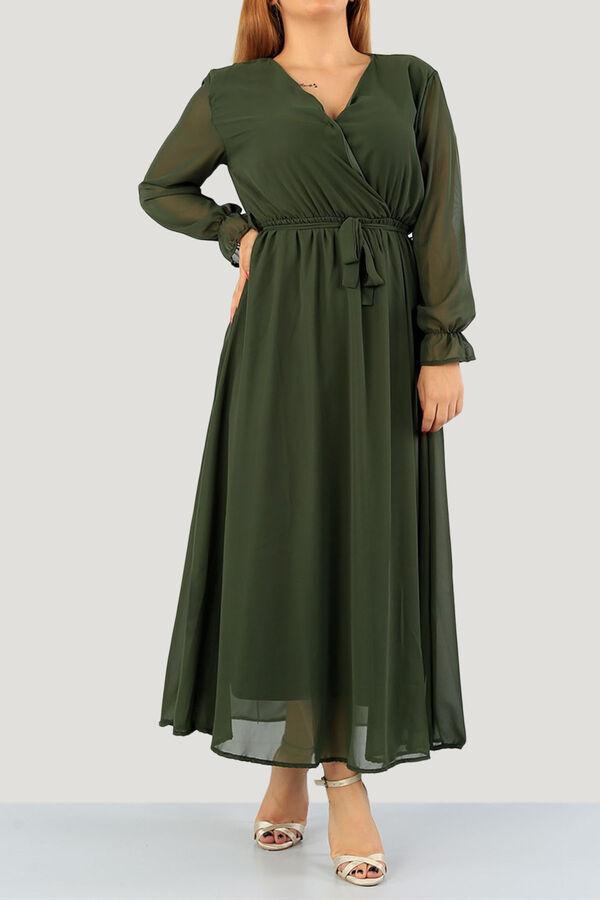 فستان زيتي شيفون بوليستر تسوق أون لاين حجاب مودانيسا أزياء محجبات ملابس محجبات فساتين جلباب عباية ملابس فستا Muslim Women Clothing Dresses Abaya Dress