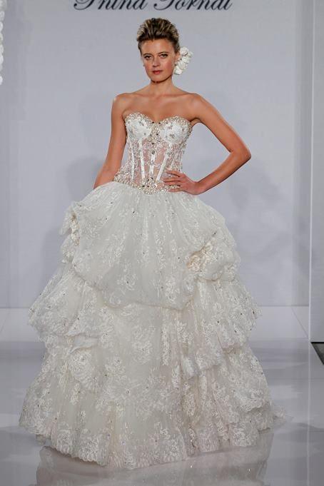 Vestidos novia pnina tornai