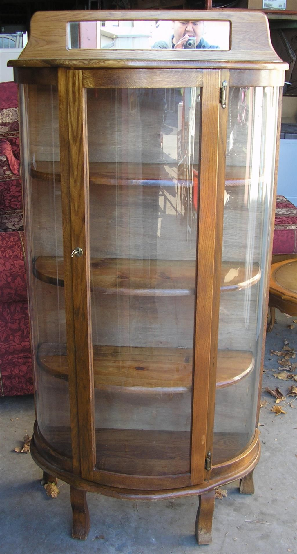 Www M37auction Com Half Moon Curio Cabinet Curio Cabinet Corner Storage Cabinet Curio