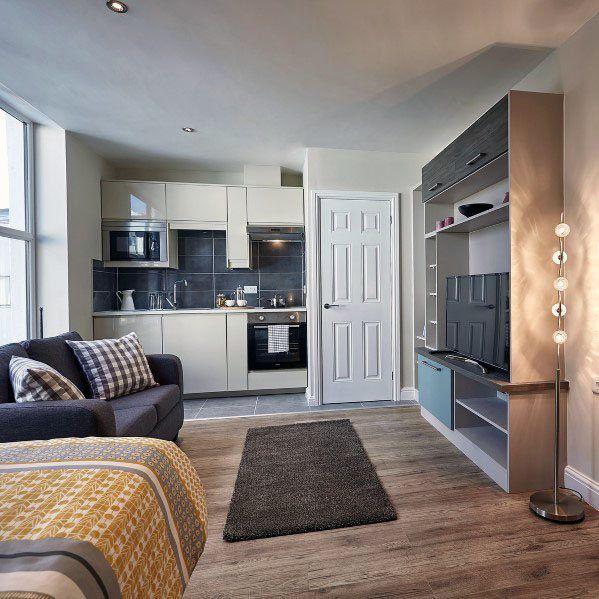 Top 60 Best Studio Apartment Ideas - Small Space Designs images