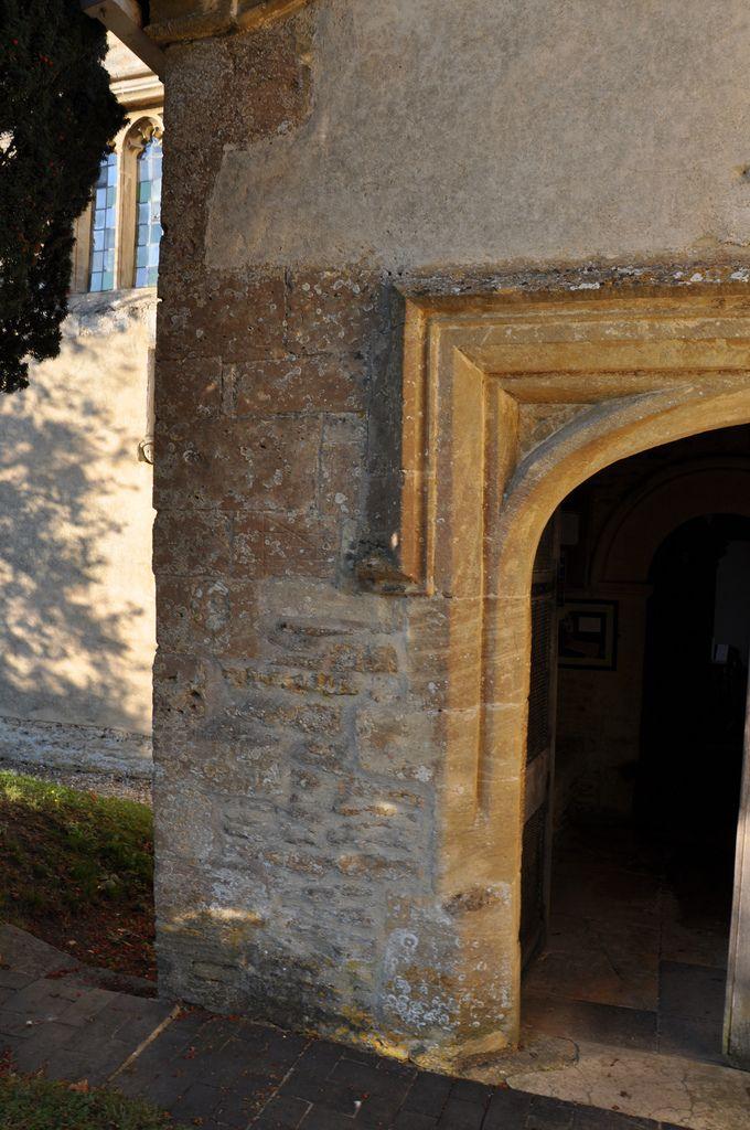 https://flic.kr/p/awDj8a   Kelmscott St George Tudor south porch http://www.bwthornton.co.uk/visiting-stratford-upon-avon.php