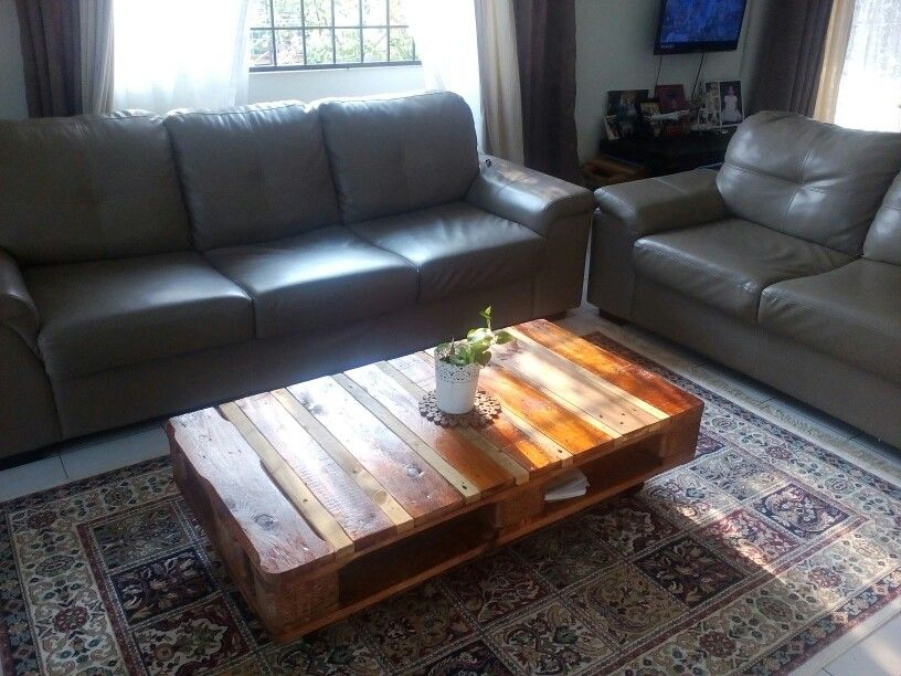 Diy Pallet Coffee Table Thanks To Mr Hubby Palletproject