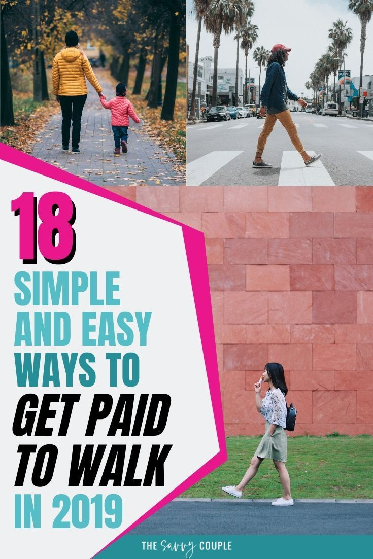 18 Simple and Easy Ways to Get Paid to Walk in 2020 (With