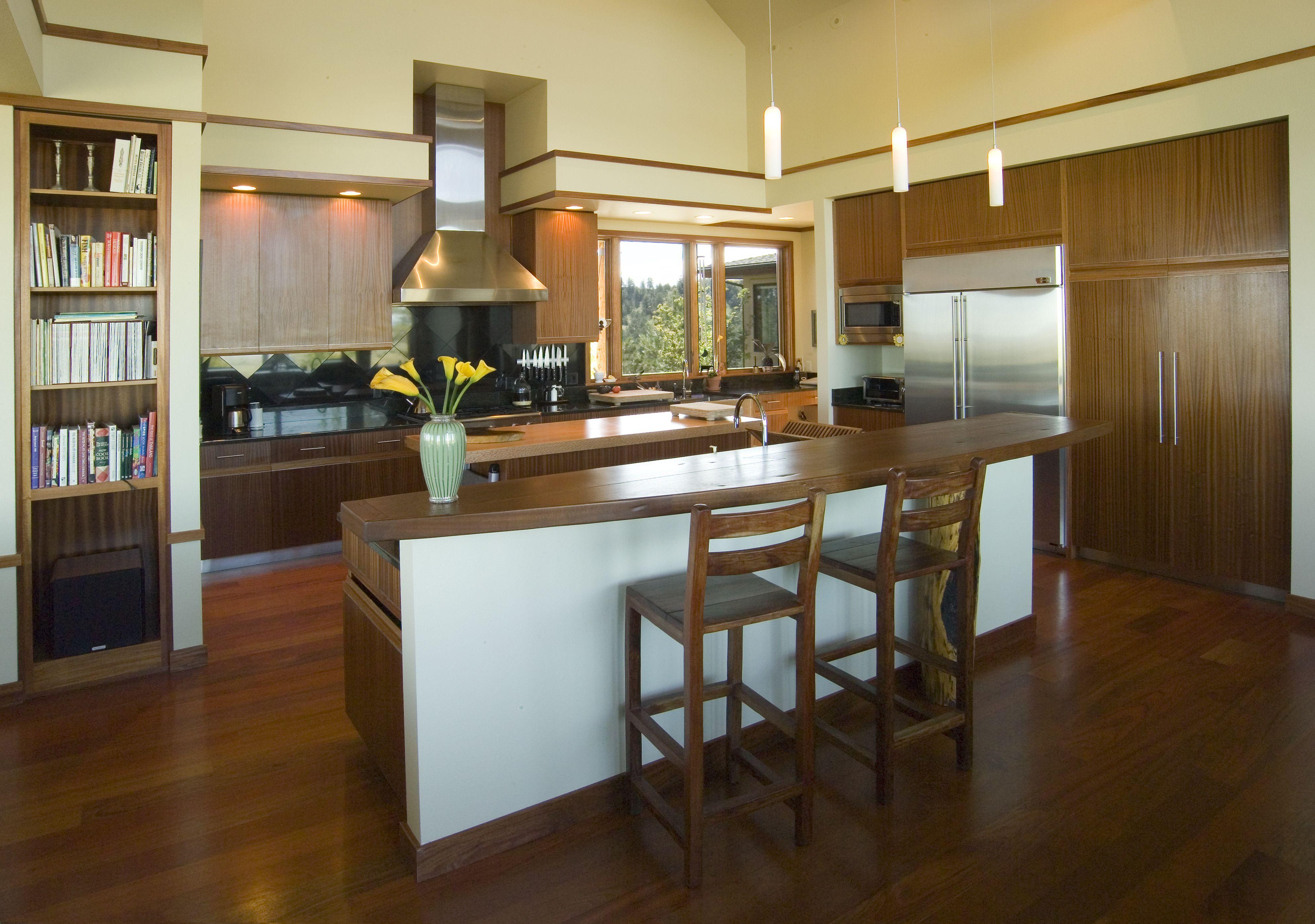 Award Winning Modern Style Kitchen shown with African ...