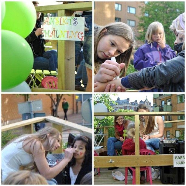 #ettårsjubileum #cupcaketimegbg #lillarisåsgatan #ansiktsmålning