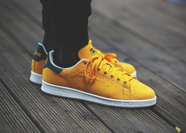 adidas campus jaune moutarde