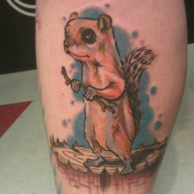 Harley did this cute little guy.  Please follow  @harleyknowsitsalive  SLC Ink Tattoo 1150 South Main Street Salt Lake City, Utah (801) 596-2061 www.slctattoos.com   #slc #801 #tattoo #slcink #saltcity #didthathurtslc #utahtattoo #saltlakecitytattoo #slctattoo #slctattoos #saltlakecity #utah #slcinktattoo #tattooartist