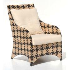 Nala Houndstooth Lounge Chair