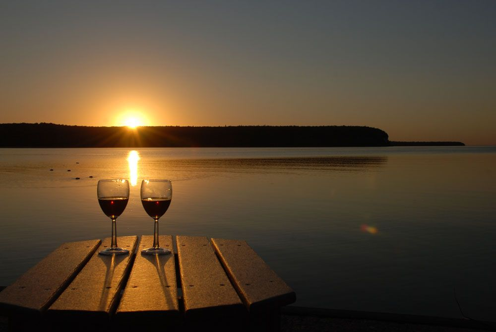 Door County wine trail. Great for a girl's weekend!