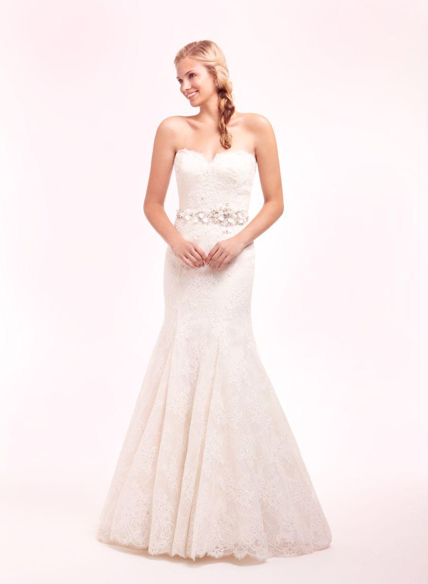 Kleinfield Bridal Gowns: Alita Graham Mermaid Wedding Dress with ...