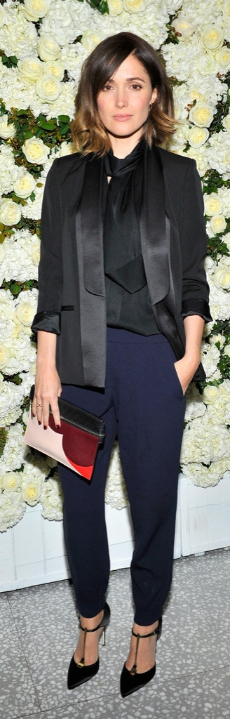 Rose Byrne in Victoria Beckham Collection.