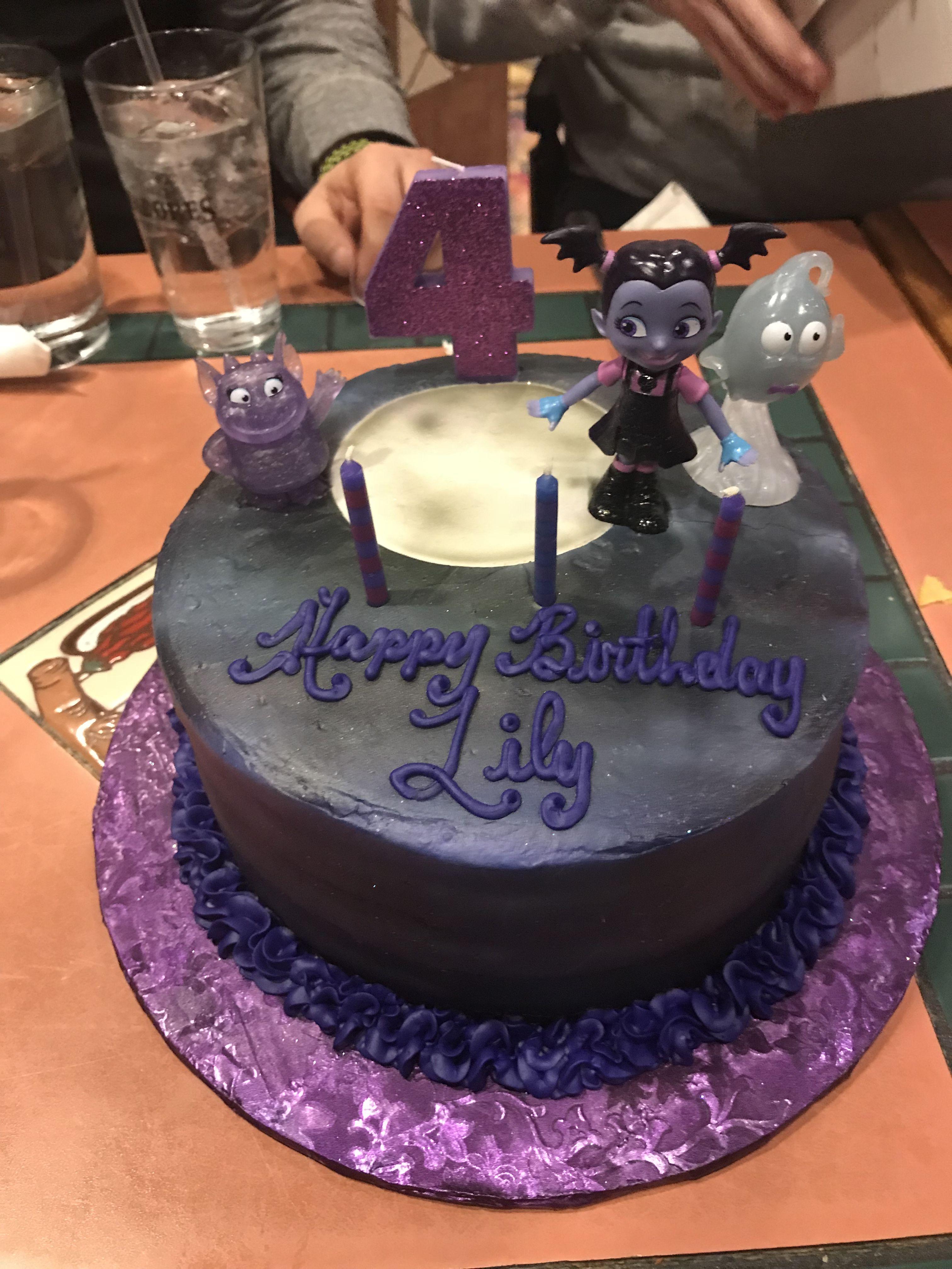 Vampirina Birthday Cake By Edible Dreams Custom Cakes