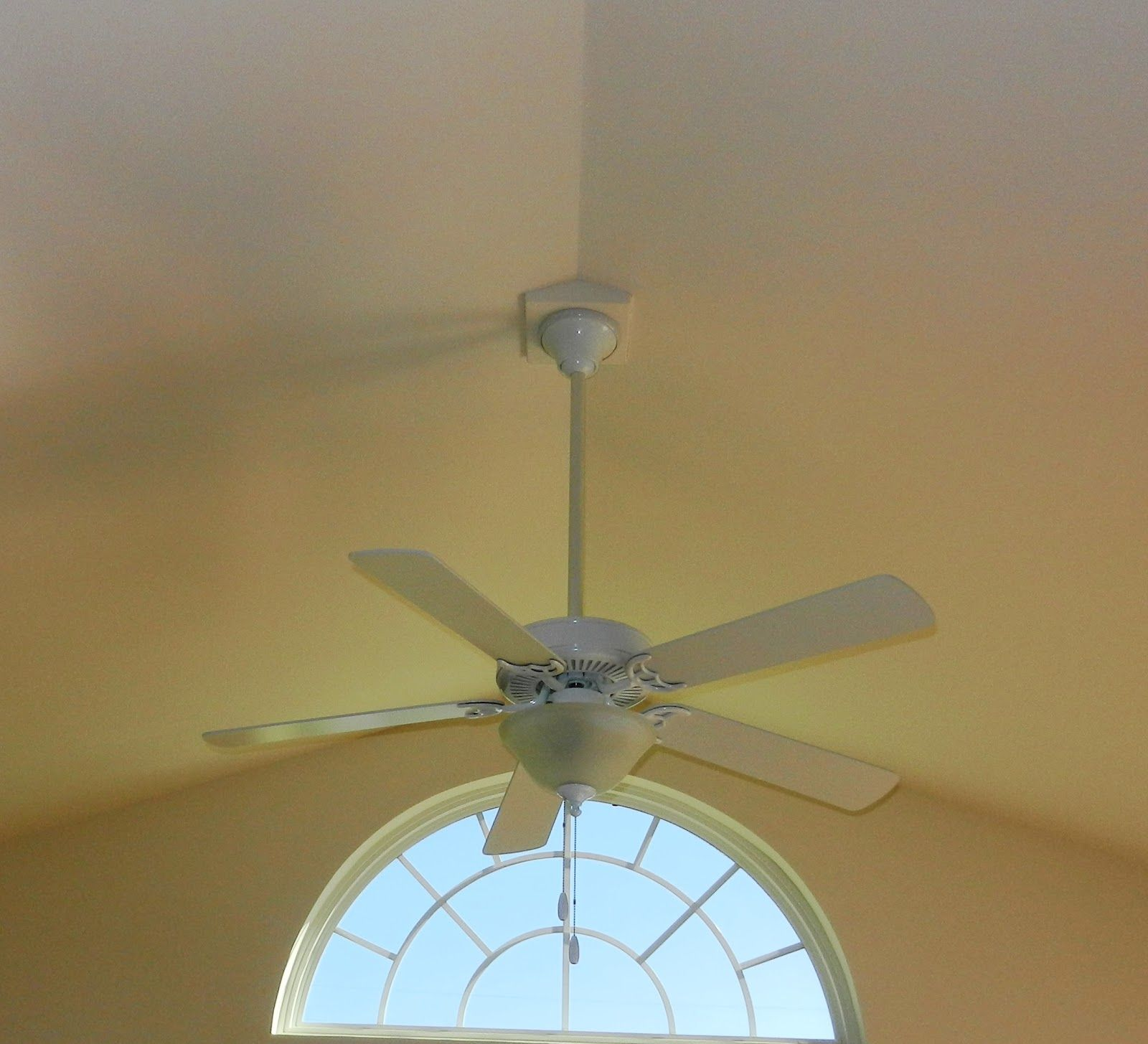 Cathedral ceiling fan mount photo family room pinterest cathedral ceiling fan mount photo aloadofball